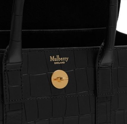 Mulberry ショルダーバッグ・ポシェット ★ 鱗のようなエンボスカット ☆   2WAYバッグ   〜 Mulberry 〜(6)