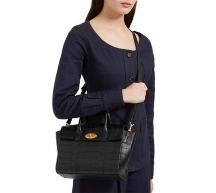 Mulberry ショルダーバッグ・ポシェット ★ 鱗のようなエンボスカット ☆   2WAYバッグ   〜 Mulberry 〜(7)
