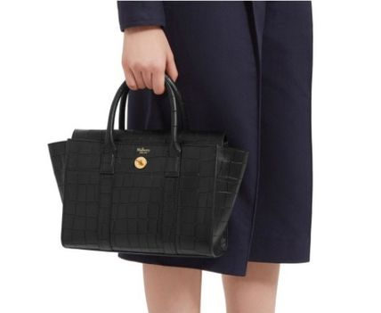 Mulberry ショルダーバッグ・ポシェット ★ 鱗のようなエンボスカット ☆   2WAYバッグ   〜 Mulberry 〜(8)