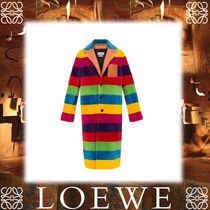 17AW新作★LOEWEロエベ★Rainbow Coat Multicolour