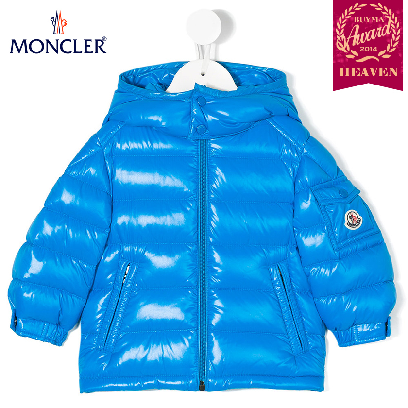 TOPセラー賞受賞!17AW┃MONCLER★0-36か月_JACKET_ブルー