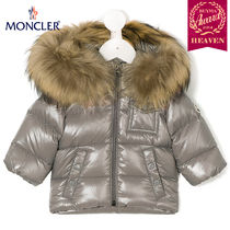 TOPセラー賞受賞!17AW┃MONCLER★0-36か月_JACKET_グレー