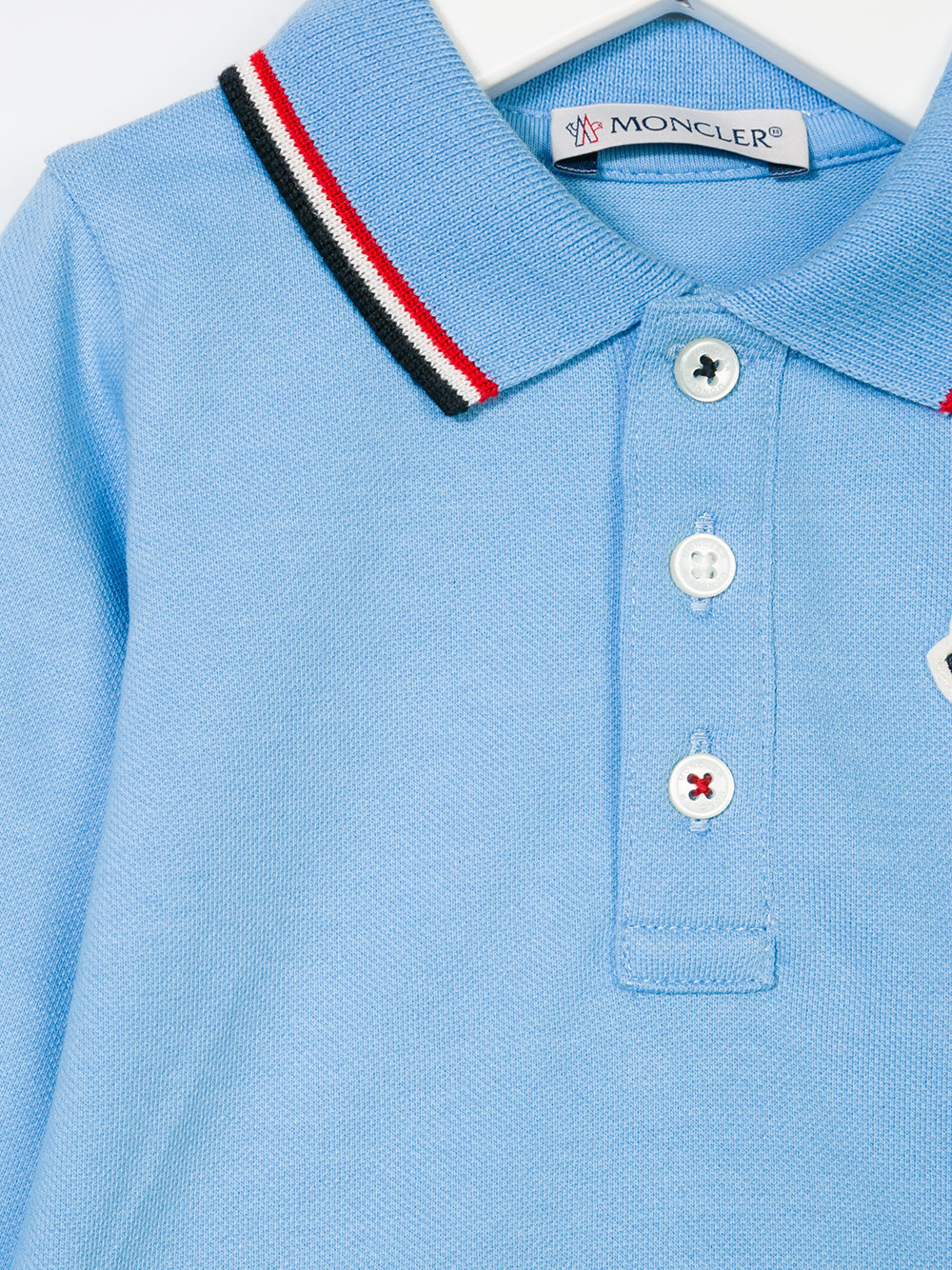 TOPセラー賞受賞!17AW┃MONCLER★0-36か月_POLO SHIRT_ブルー