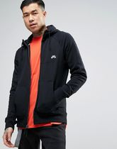 Nike SB Everett Zip-up Hoodie In Black In Black 846882-010