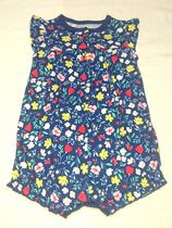 Carter's*ROMPERS(FLOWER/BL)