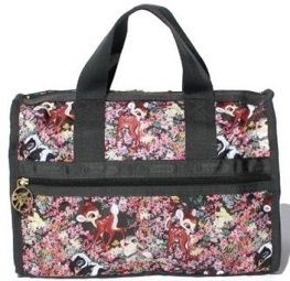 sale!LeSportsac-SMALL WEEKENDER bambi and friends