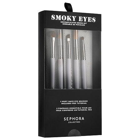 Sephora☆限定(Smoky Eyes: Uncomplicated Brush Set)