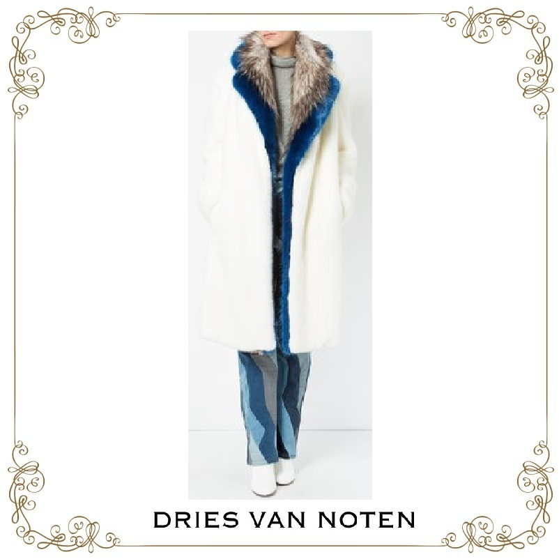 【17AW】★Dries Van Noten★contrast lining coat