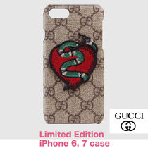 17AW 限定 GUCCI GG SUPREME SNAKE IPHONE 7 CASE ケース