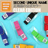 SECOND UNIQUE NAME iPhone・スマホケース 【NEW】「SECOND UNIQUE NAME」 CLEAR EDITION 正規品