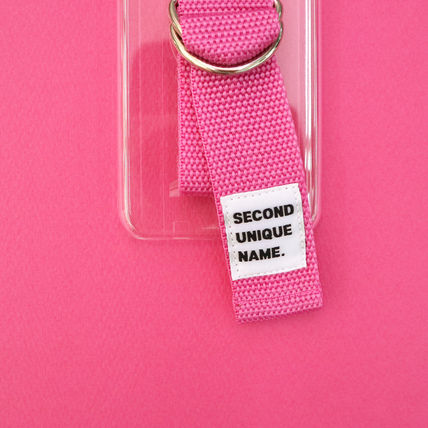 SECOND UNIQUE NAME iPhone・スマホケース 【NEW】「SECOND UNIQUE NAME」 CLEAR EDITION 正規品(13)
