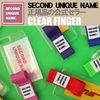 SECOND UNIQUE NAME iPhone・スマホケース 【NEW】「SECOND UNIQUE NAME」 CLEAR FINGER EDITION 正規品