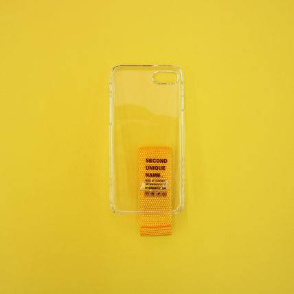 SECOND UNIQUE NAME iPhone・スマホケース 【NEW】「SECOND UNIQUE NAME」 CLEAR FINGER EDITION 正規品(13)