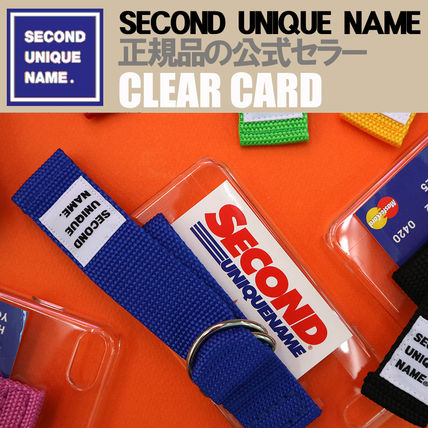 SECOND UNIQUE NAME iPhone・スマホケース 【NEW】「SECOND UNIQUE NAME」 CLEAR CARD EDITION 正規品