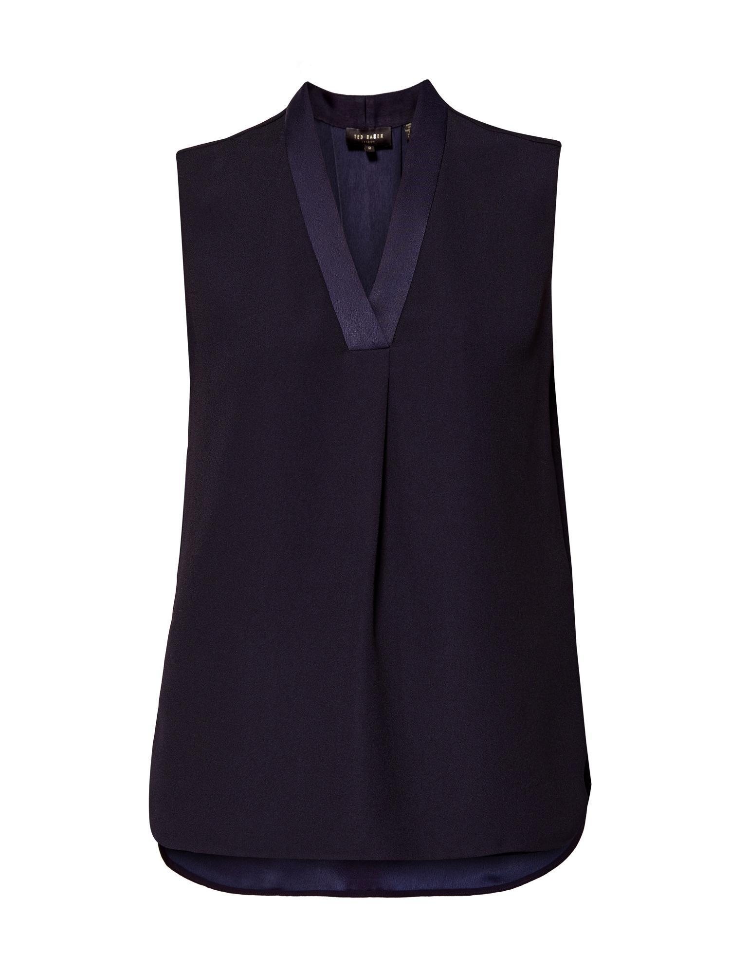 【関税込】TedBaker人気ベスト☆Giannah Sleeveless Drop Hem V