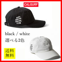 選べる2カラー★ANTISOCIAL SOCIALCLUB CAP/ black or white