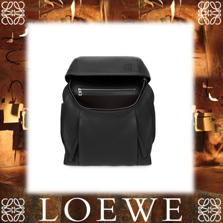 17AW新作★LOEWE★T Backpack Small ブラック