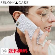 日本未【FELONY CASE】ホワイトKALEIDOSCOPE iPhoneケース