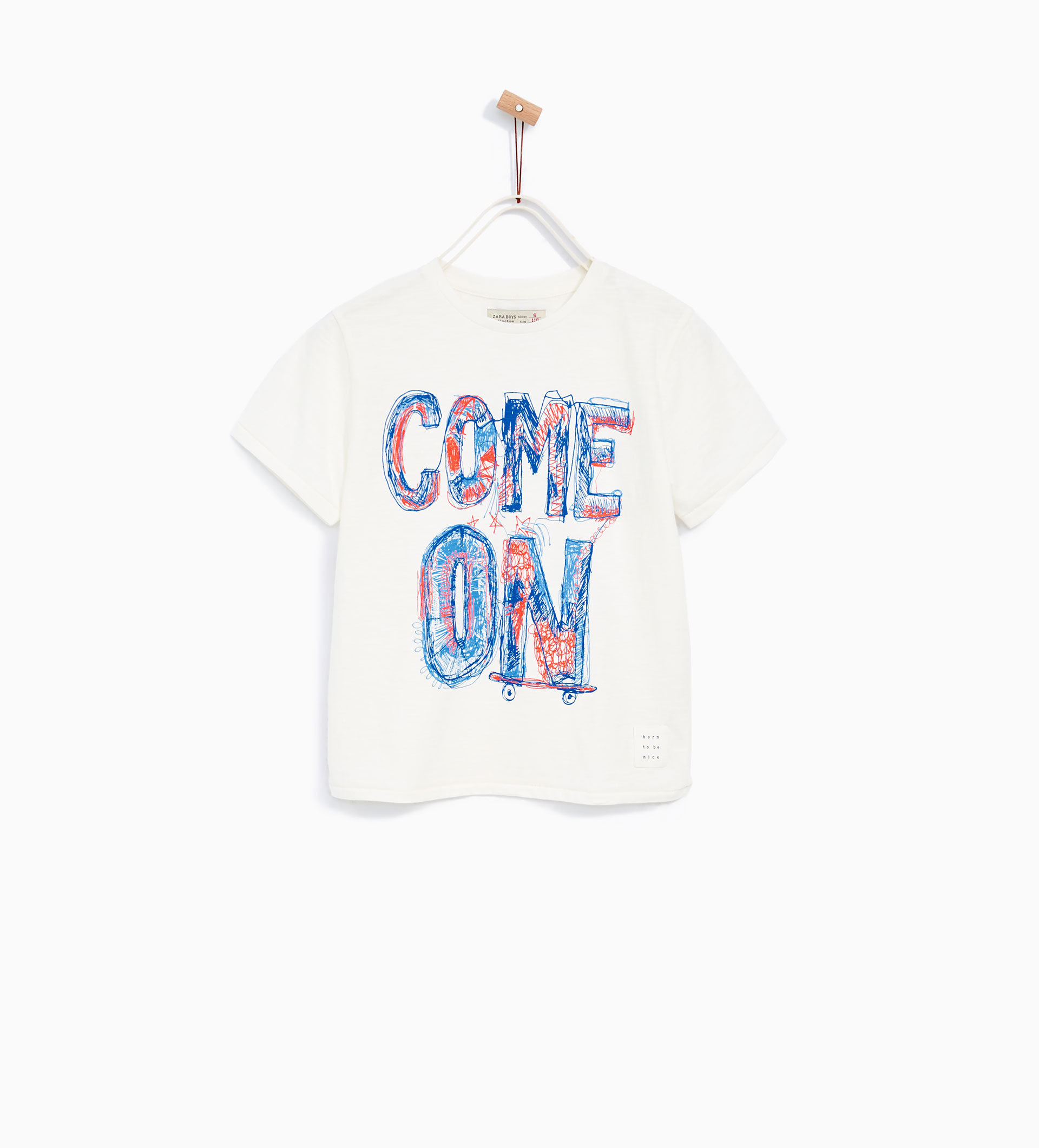"""COME ON"" Tシャツ"