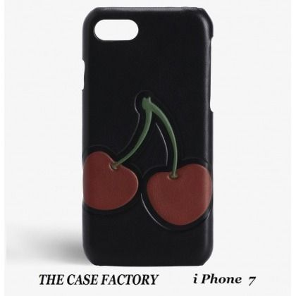 THE CASE FACTORY iPhone・スマホケース 関税送料込☆THE CASE FACTORY☆iPhone7 チェリーブラック