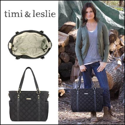 LA発★セレブ愛用★timi &leslie★多機能 バッグQuilted Tote
