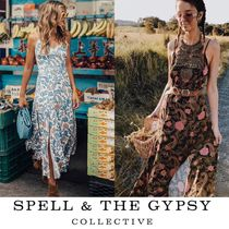 2017AW【SPELL & THE GYPSY】2way◎ガウンスタイルマキシワンピ