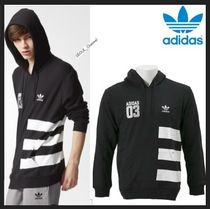 ☆関税込/安全発送☆Adidas Originals★STRIPES PULLOVER Hoodie