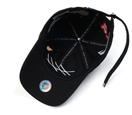 ☆関税込/安全発送☆STIGMA GRAFF BASEBALL CAP BLACK★2色