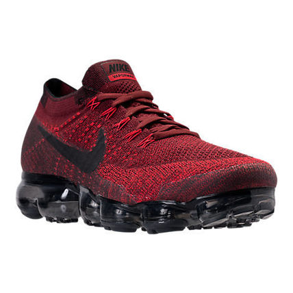 Nike スニーカー Men's Nike Air VaporMax Flyknit  Dark Team Red/Black