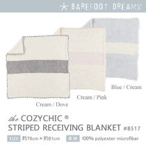 Barefoot Dreams CozyChic Striped Receiving Blanket 出産祝い