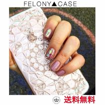 日本未【FELONY CASE】クリア KALEIDOSCOPE iphoneケース
