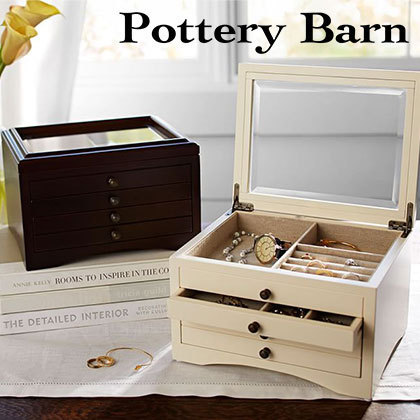 ★Pottery Barn★ ジュエリーボックスANDOVER SMALL