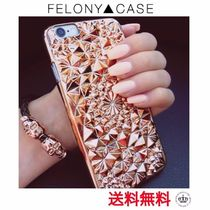 日本未【FELONY CASE】ローズゴールドKALEIDOSCOPE iphoneケース