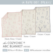 Barefoot Dreams Cozychic ABC Blanket 出産祝い
