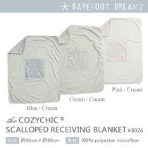Barefoot Dreams Signature Plush Receiving Blanket 出産祝い