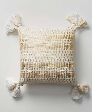 Anthropologie【日本初-発送☆Tufted Amal Pillow】クッション☆
