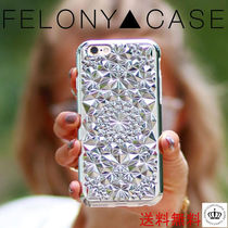 日本未【FELONY CASE】シルバー KALEIDOSCOPE iphoneケース