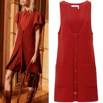 17-18AW C242 LOOK4 VIRGIN WOOL PINAFORE DRESS