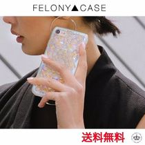 【FELONY CASE】クリアホログラフィックKALEIDOSCOPE iPhoneCASE