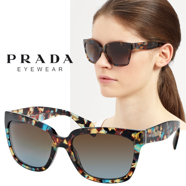 PRADA プラダ サングラス  PR07ps nag0a4 Acetate Havana Square