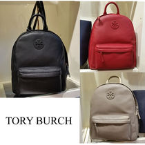 【Tory Burch】Leather Backpack 4colors♪☆関送込