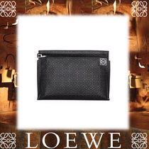 17AW新作★LOEWE★T Pouch Repeat ブラック