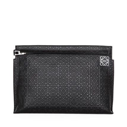 LOEWE バッグ・カバンその他 17AW新作★LOEWE★T Pouch Repeat ブラック(2)