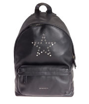 【関税負担】 GIVENCHY STAR STUDS LEATHER BACKPACK