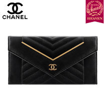 TOPセラー賞受賞!17秋冬★CHANEL┃FLAP WALLET_BLACK