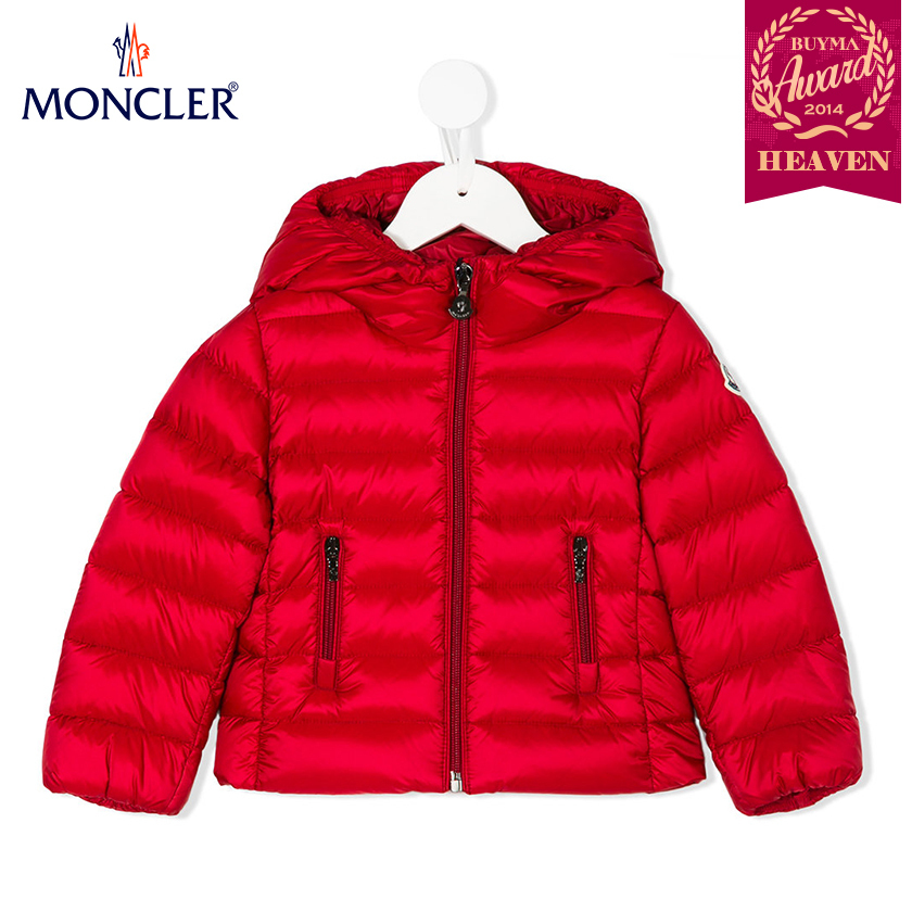 TOPセラー賞受賞!17AW┃MONCLER★8-10歳_JACKET_レッド