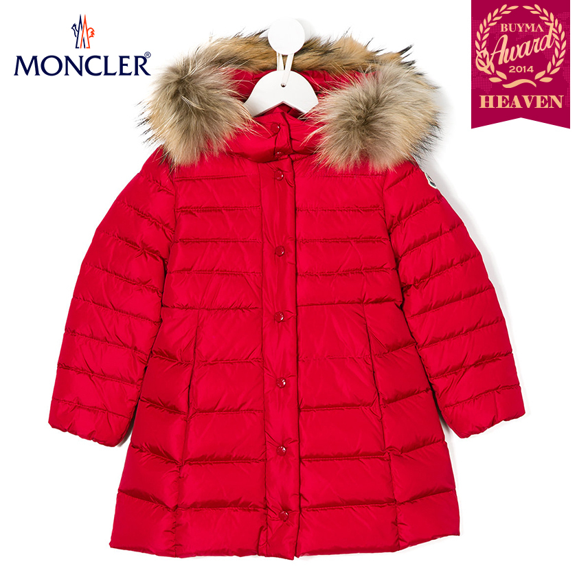 TOPセラー賞受賞!17AW┃MONCLER★4-6歳_PADDED JACKET_レッド