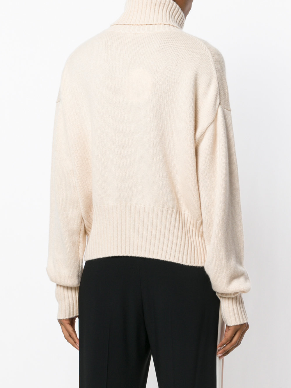 17-18AW C254 TURTLENECK CASHMERE SWEATER WITH FRONT POCKET