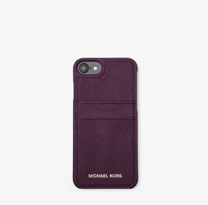 *国内発送* Michael Kors Saffiano Leather iPhone 7