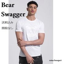 Bear Swagger(ベアスワッガー) Tシャツ・カットソー 【送料込】Bear Swagger★WHITEOUT LOGOTシャツ